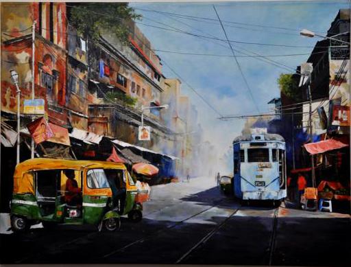 Cityscape By Moinuddin Mullick