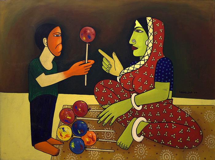 Sanjay Sah - Folkart