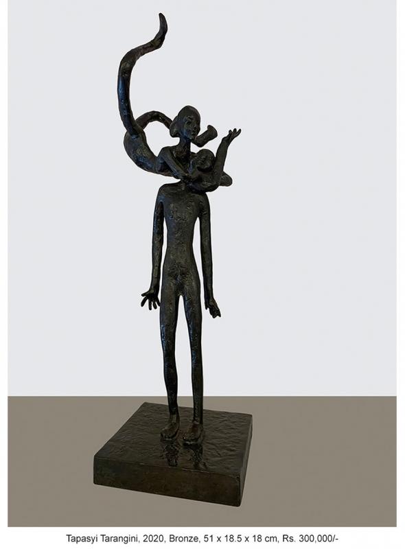 Tapasyi-Tarangini-2020-Bronze-51-x-18.5-x-18-cm-Rs.-300000